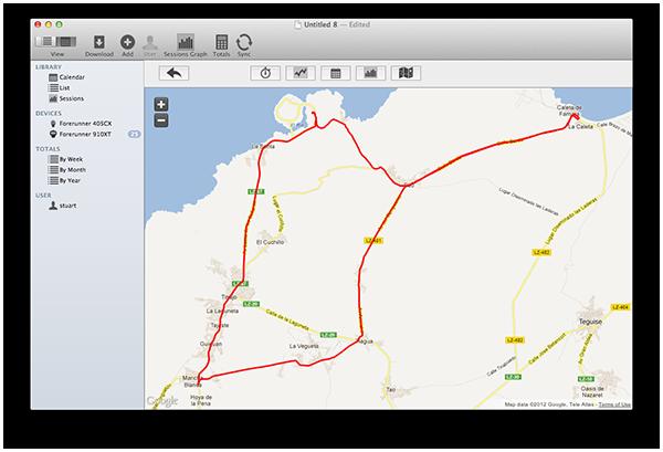 ISMARTtrainV4 Map